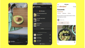 An example for browsing recipes with AllRecipes through the Snap Camera.